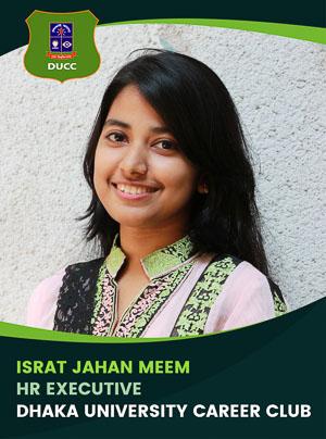 Israt Jahan Meem - Executive - DUCC - 2017-18