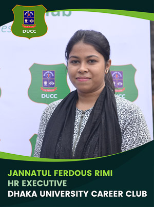 Jannatul Ferdous Rimi - Executive - DUCC - 2017-18