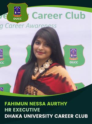 Fahimun Nessa Aurthy - Executive - DUCC - 2017-18