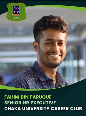 Fahim Bin Faruque - Senior Executive - DUCC - 2017-18