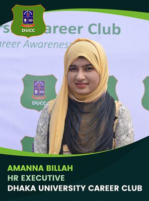 Amanna Billah - Executive - DUCC - 2017-18