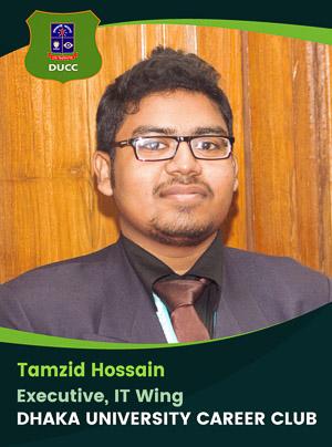 Tamzid Hossain - Executive - DUCC - 2017-18