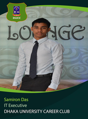 Samiron Das - Executive - DUCC - 2017-18