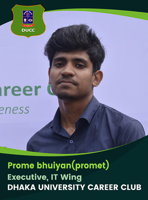 Prome Bhuiyan - Executive - DUCC - 2017-18