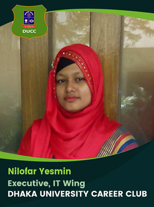 Nilofar Yesmin - Executive - DUCC - 2017-18