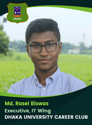 Md. Rasel Biswas - Executive - DUCC - 2017-18