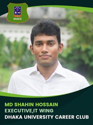 Md Shahin Hossain - Executive - DUCC - 2017-18