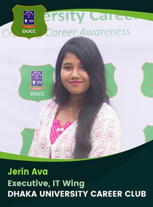 Jerin Ava - Executive - DUCC - 2017-18