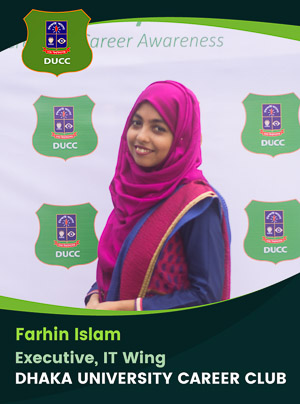Farhin Islam - Executive - DUCC - 2017-18