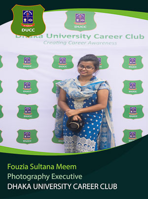 Fouzia Sultana Meem - Executive - DUCC - 2017-18