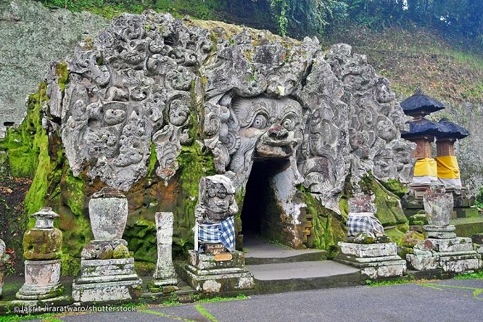 Objek Wisata Goa Gajah Bali