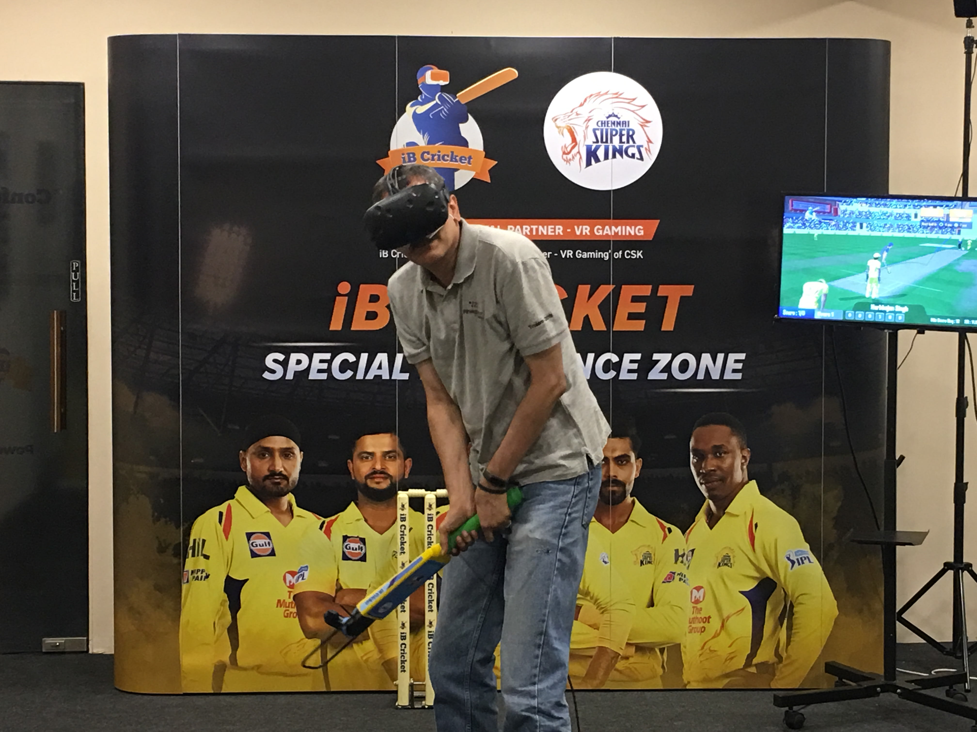 CSK-iB Cricket Fan Tour!