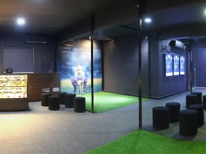 iB Cricket arcade interior