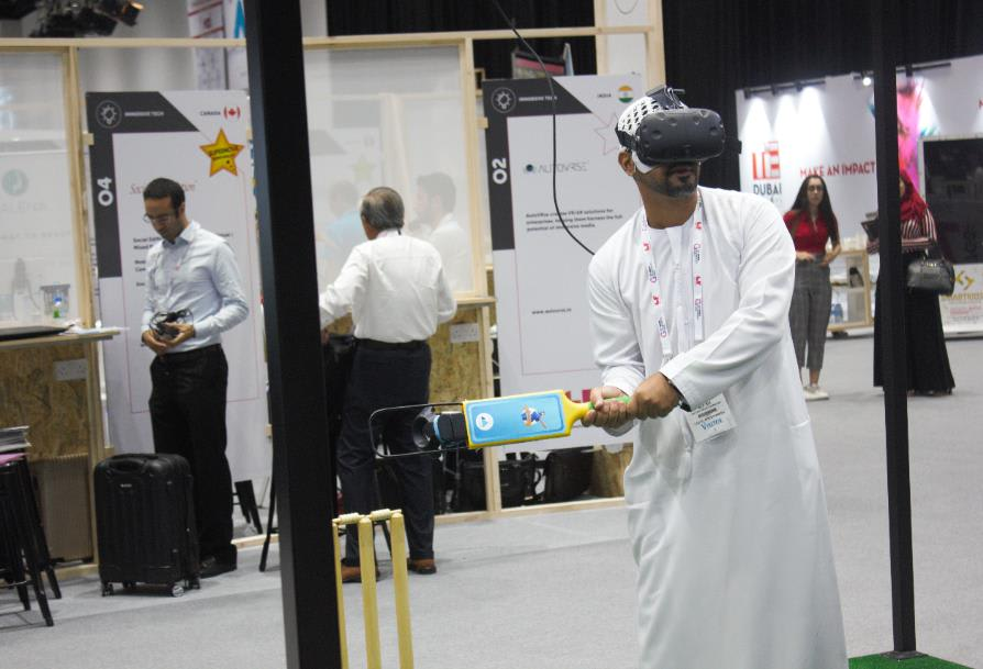 iB Cricket at GITEX.