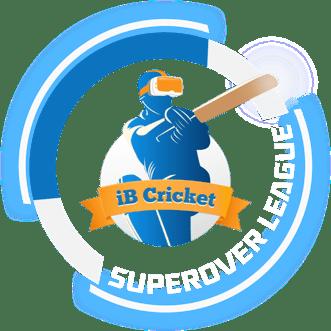iB Cricket Super Over League Logo