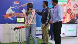 Neha Mahana, daughter of Shri Satish Mahana, was thrilled to play the new format of cricket - iB Cricket.