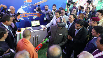 Energy and Excitement all around as the iB Cricket was launched in the presence of President
