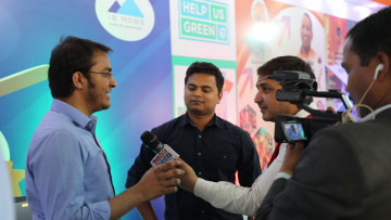 Founder Vasanth Sai and CEO Trivikram answering the curious questions by media channels.