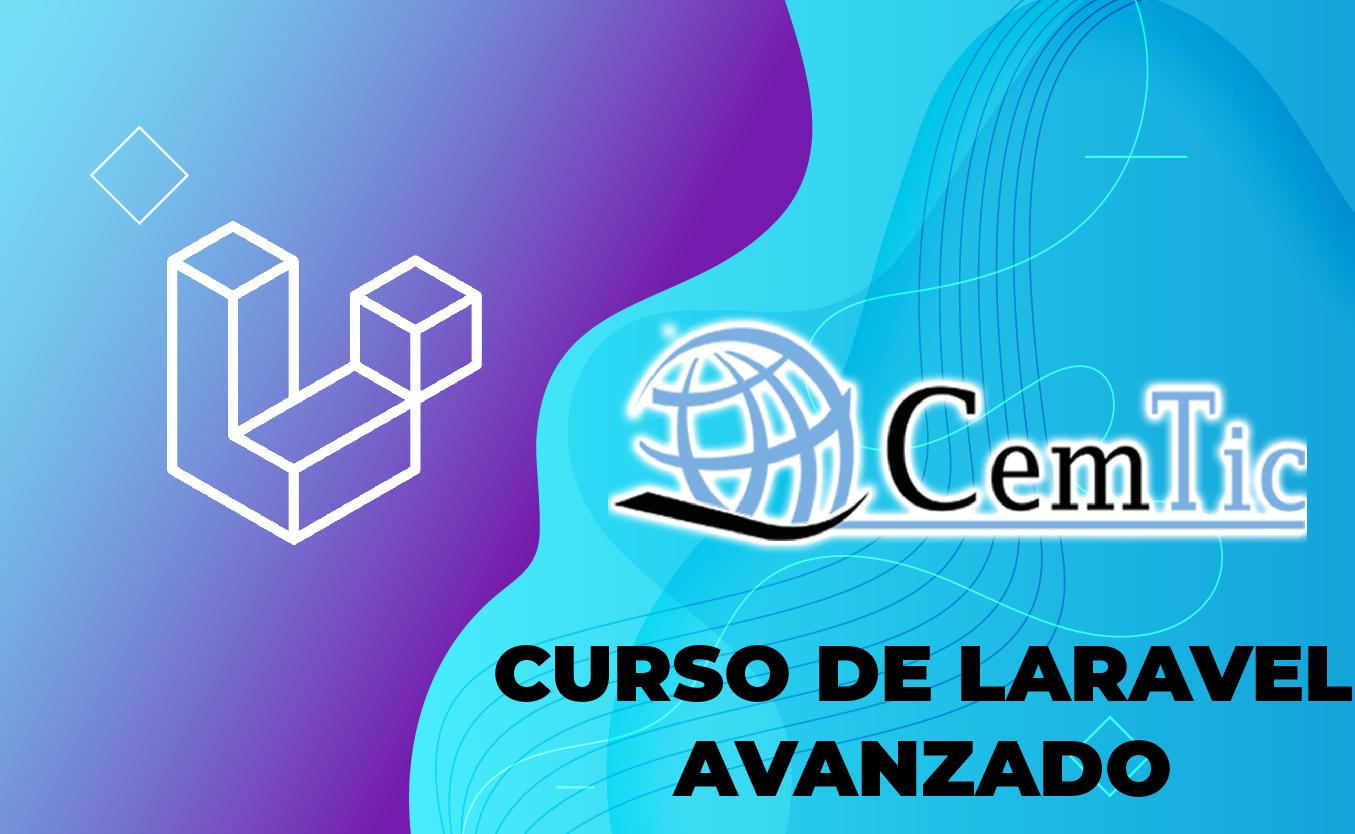 CURSO DE PROGRAMACIÓN CON LARAVEL FRAMEWORK