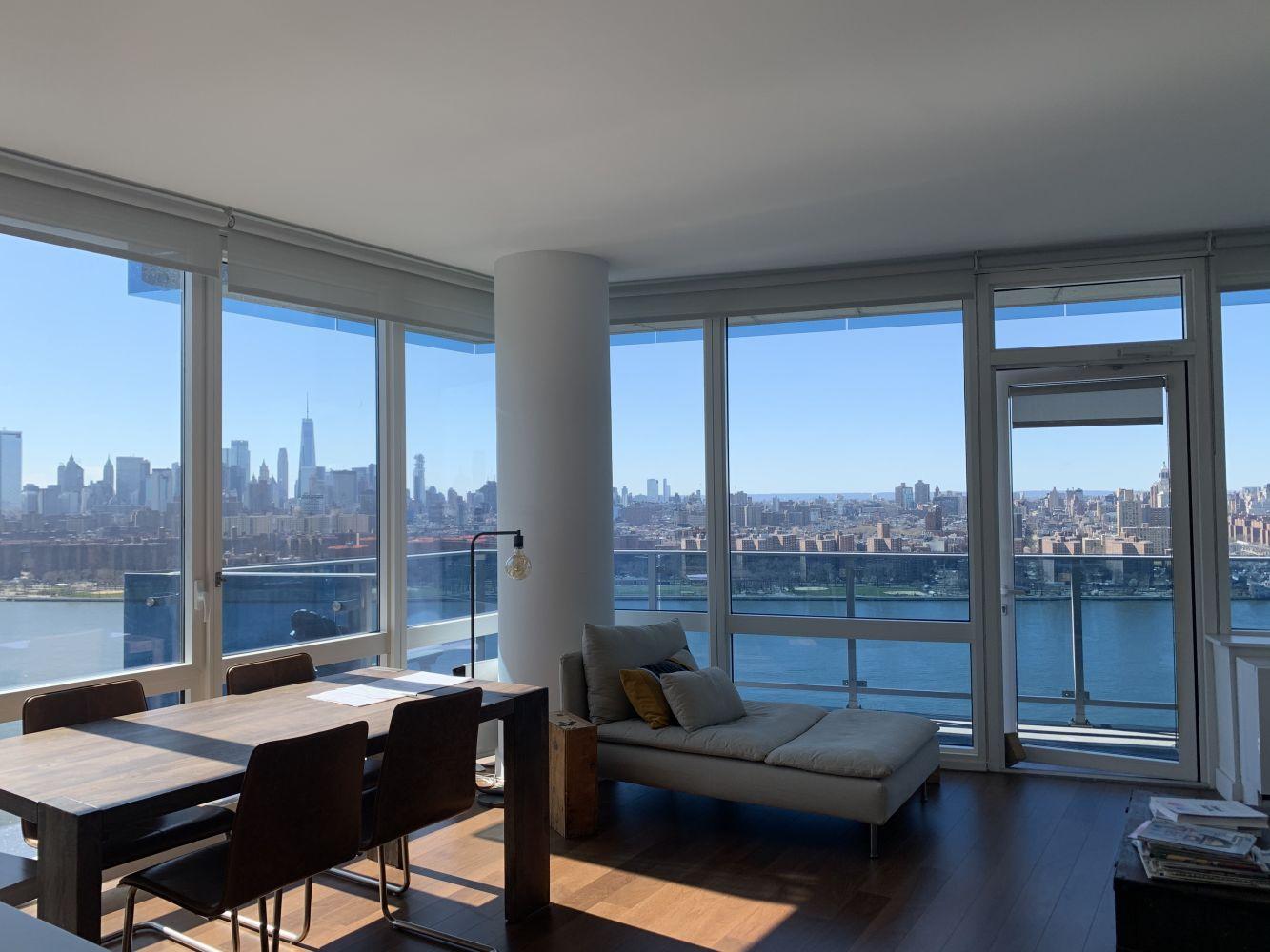 Dalla finestra di casa di Giorgia Lupi a Brooklyn