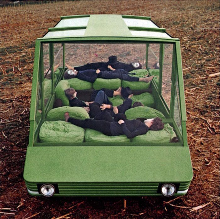 Mario Bellini, Kar-a-sutra, in collaborazione con Cassina, realizzata con Citroën e Pirelli, 1972 - via Italian Ways