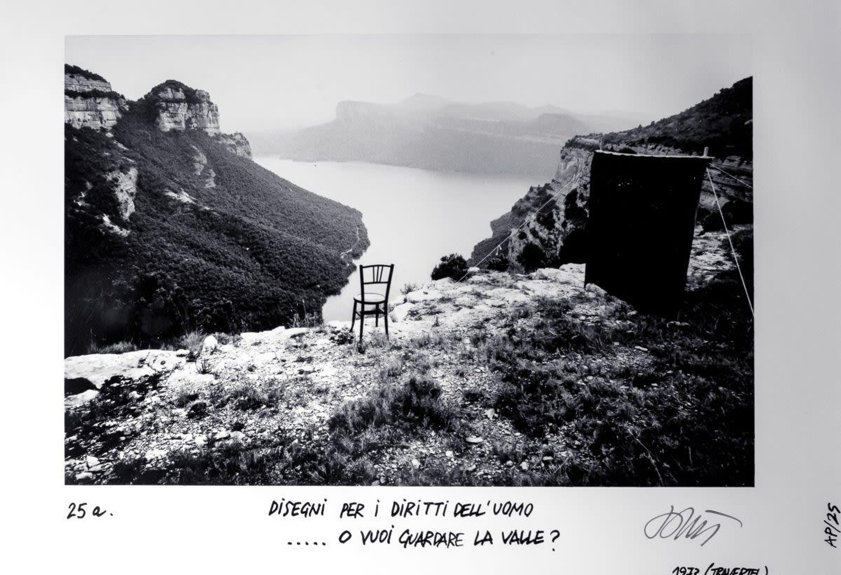 Ettore Sottsass, Disegni per i destini dell'uomo - 25a, ...o vuoi guardare la valle?