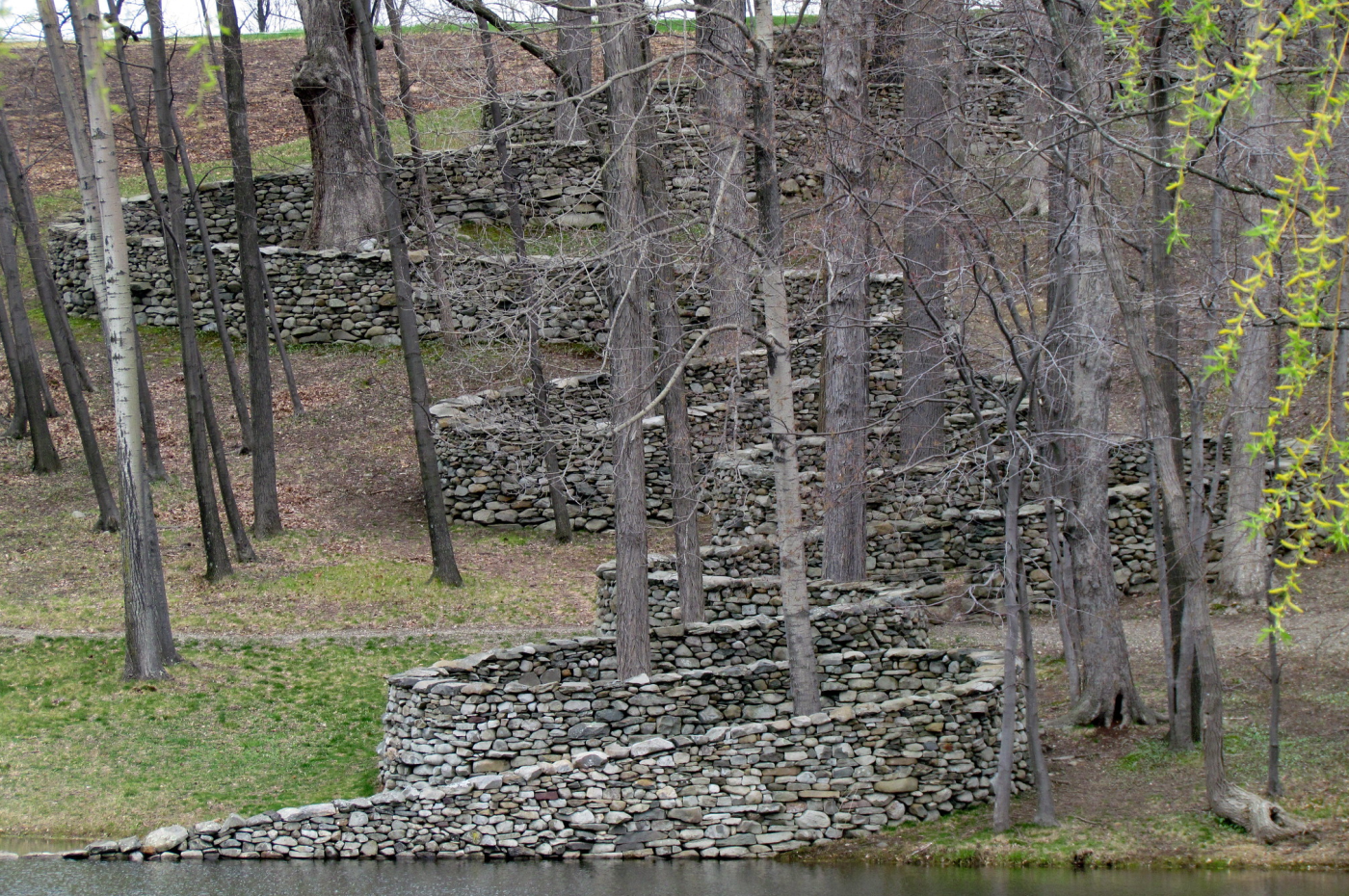 Storm King Wall, via Andy Goldsworthy