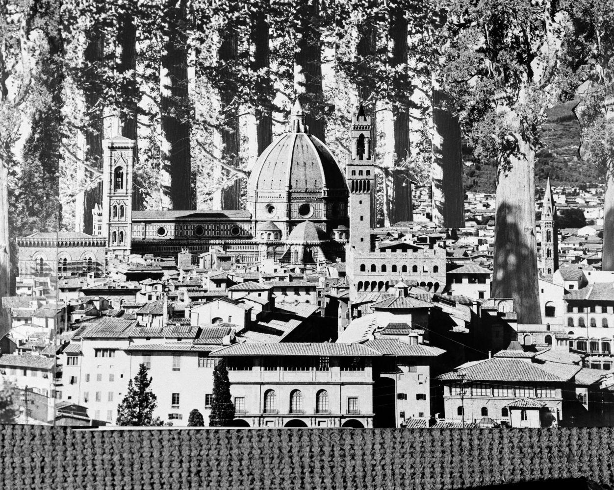 Gruppo 9999 (G.Birelli, C.Caldini, F.Fiumi, P.Galli), Concorso per la Nuova Università di Firenze, 1971