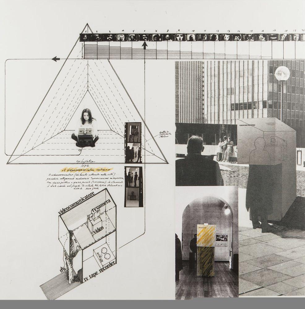 Ugo La Pietra, Videocomunicatore, 1972, via Ugo La Pietra