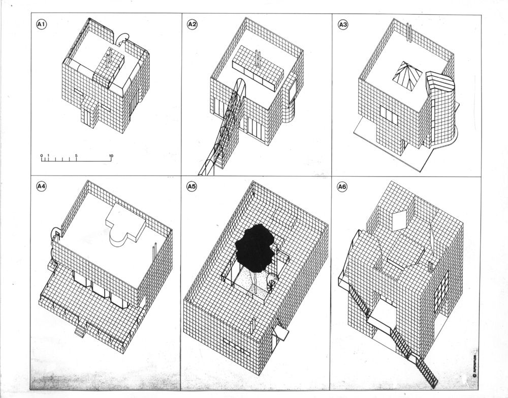 Superstudio, Catalogo delle ville, 1968-70