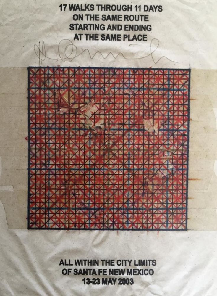 "Hamish Fulton, Walking Artist - in ""Miniature and Panorama"", di Gunther Vogt"