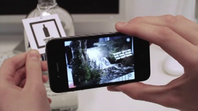 Absolut Vodka Augmented reality mobile app