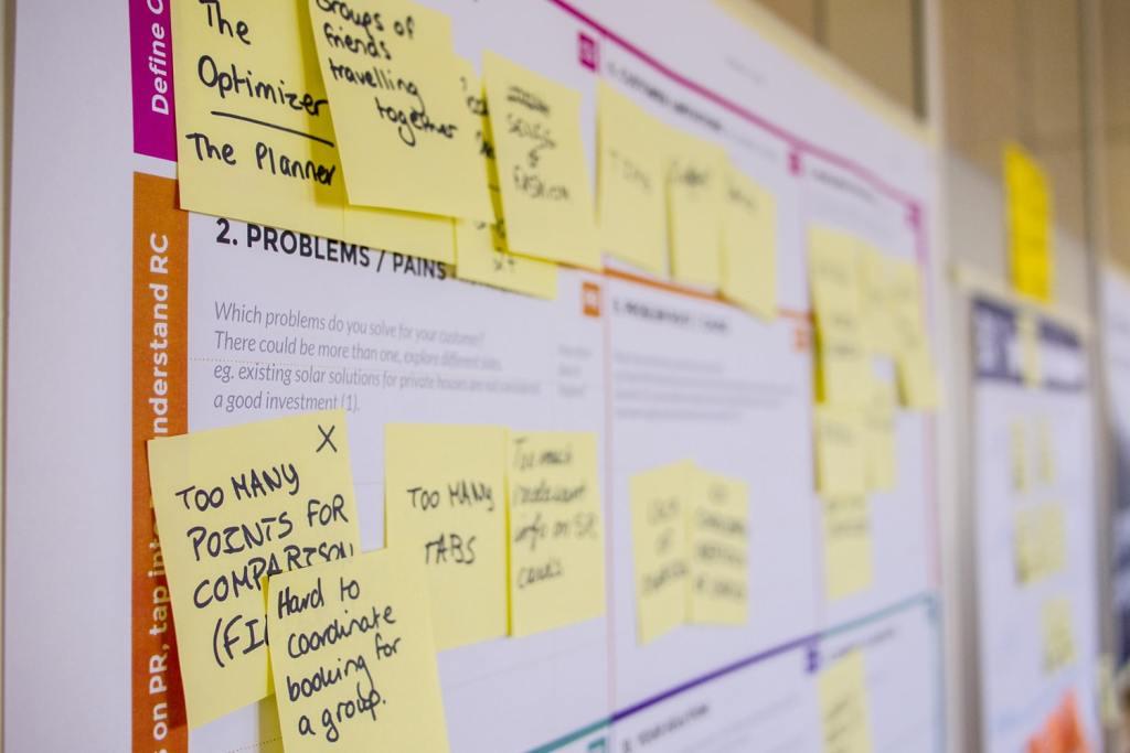 Agile software discovery board