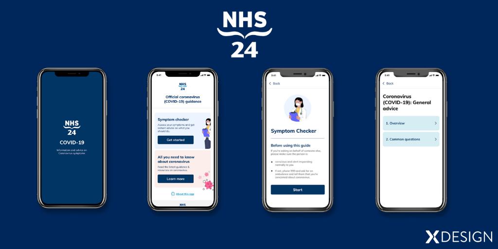NHS 24 app