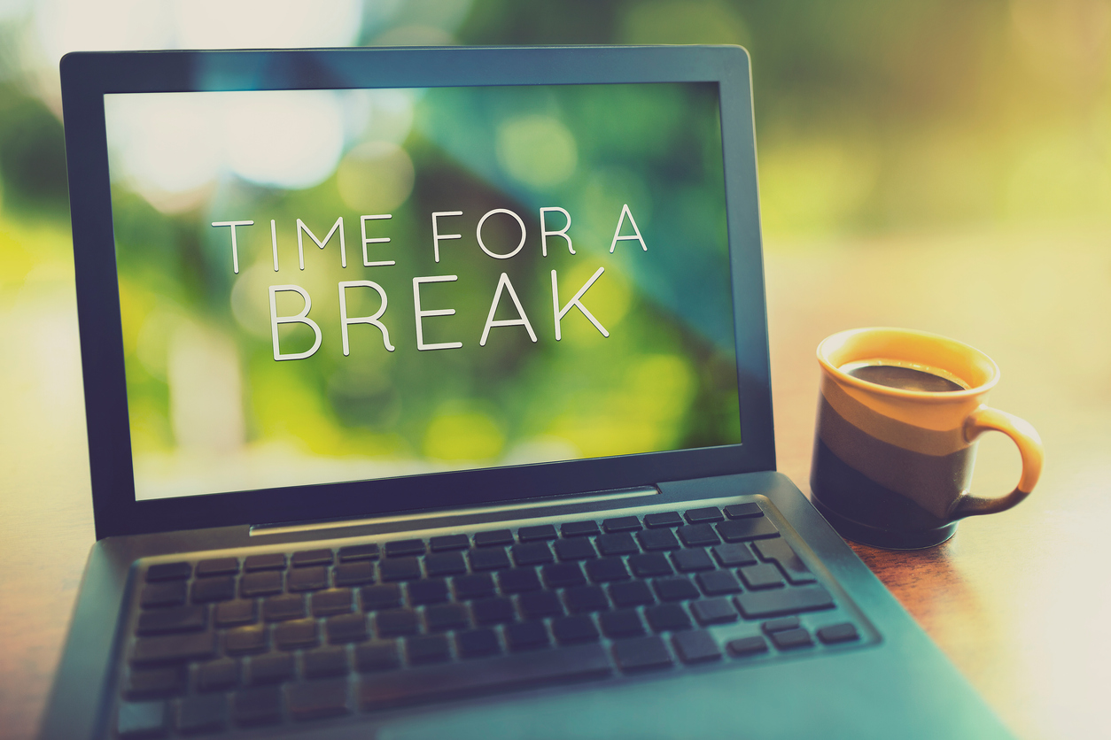 Take a break from your laptop