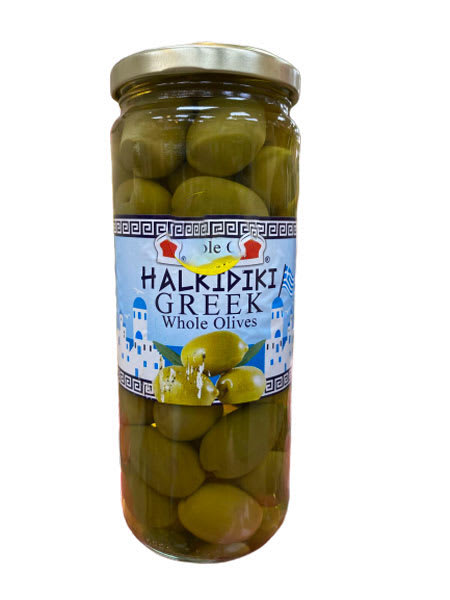 garusana halkidiki greek whole olives 430g
