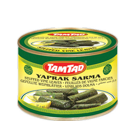 tamtad stuffed vine leaves 340g