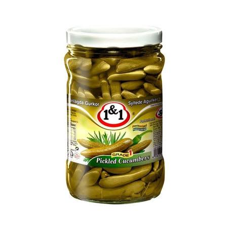 1&1 cucumber pickle 630g