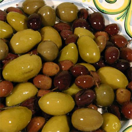 green olives with kalamata 1kg