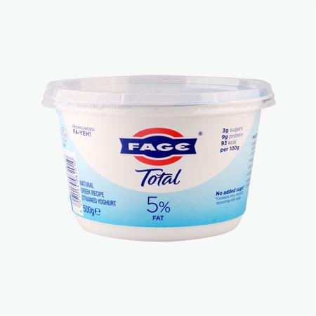 face strained yogurt 500g