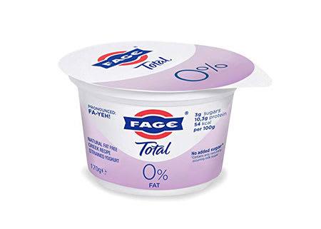 fage greek strained yoghurt 0% 170g