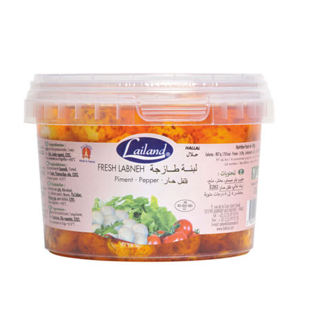 lailand fresh labneh pepper 320g