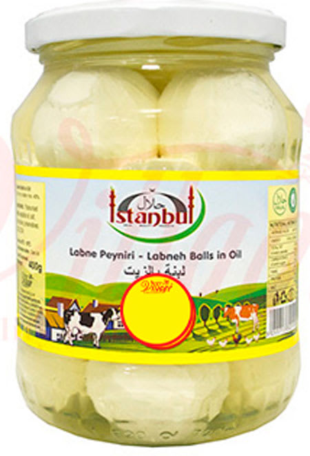 istanbul labneh balls in oil 400g
