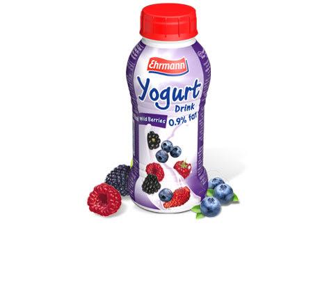 ehrmann yogurt wildberry 310ml