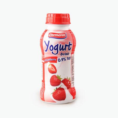 ehrmann yogurt strawberry 310ml