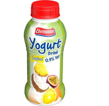 ehrmann yogurt tropical 310ml