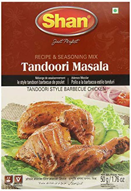 shan tandoori masala 50g