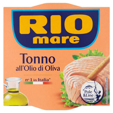 rio mare tuna with olive oil 2x160g