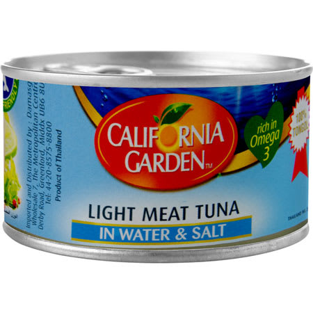 california light meat tuna water 185g