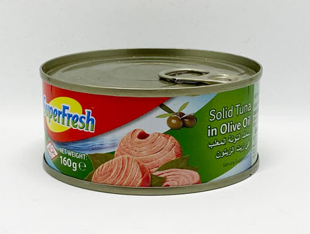superfresh solid tuna in olive oil 160g